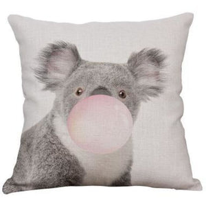 Housses de coussin COLLECTION PINK BUBBLE - koala - coussins - La boutique by c.