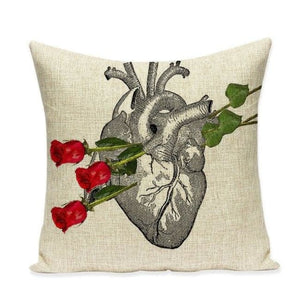 Housses de coussin COLLECTION VERTIGO - heart & rose - coussins - La boutique by c.