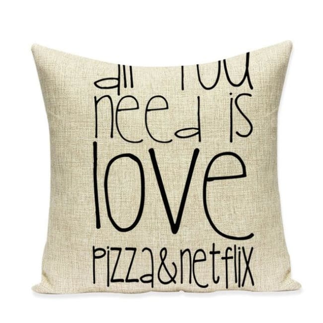 Housses de coussin COLLECTION VERTIGO - pizza & netflix - coussins - La boutique by c.