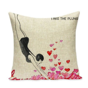 Housses de coussin COLLECTION VERTIGO - take the plung - coussins - La boutique by c.