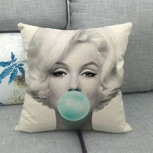 Housses de coussin de la COLLECTION BUBBLE STAR - Marilyn Monroe 1 - coussins - La boutique by c.