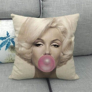 Housses de coussin de la COLLECTION BUBBLE STAR - Marilyn Monroe 2 - coussins - La boutique by c.