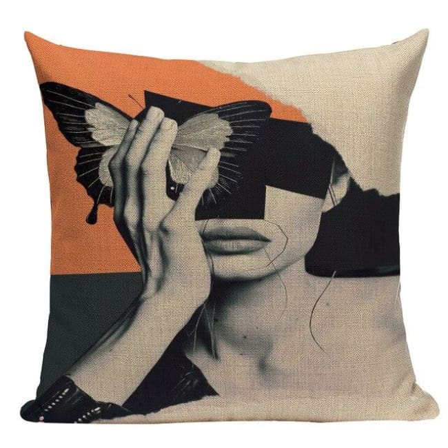 Housses de coussin WOMAN 2 de la COLLECTION MY HOME - A - coussins - La boutique by c.