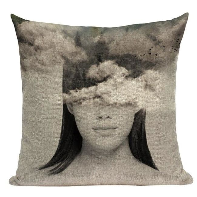 Housses de coussin WOMAN 2 de la COLLECTION MY HOME - D - coussins - La boutique by c.