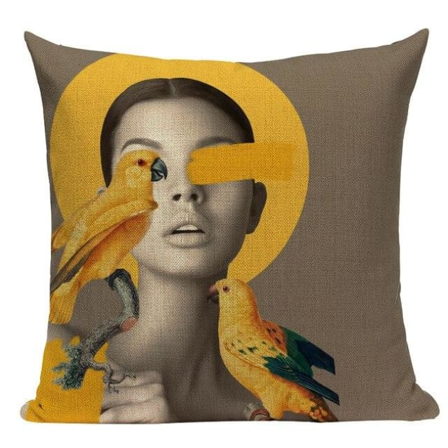 Housses de coussin WOMAN de la COLLECTION MY HOME - A - coussins - La boutique by c.