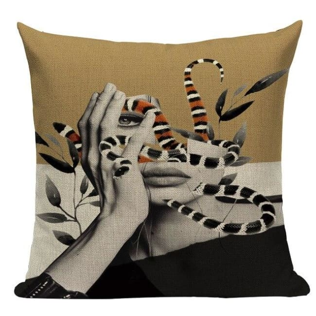 Housses de coussin WOMAN de la COLLECTION MY HOME - B - coussins - La boutique by c.