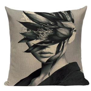 Housses de coussin WOMAN de la COLLECTION MY HOME - C - coussins - La boutique by c.
