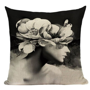 Housses de coussin WOMAN de la COLLECTION MY HOME - D - coussins - La boutique by c.
