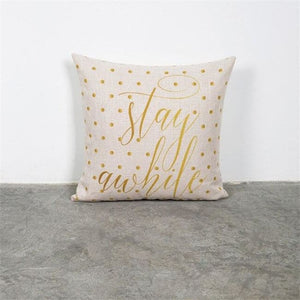 Housses de coussins COLLECTION ANANAS - Stay awhile - coussins - La boutique by c.