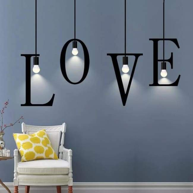 Luminaire ALPHABET de la collection DESIGN - Luminaires - La boutique by c.