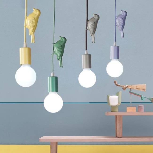 Luminaire BIRD de la COLLECTION HAPPY - Luminaires - La boutique by c.