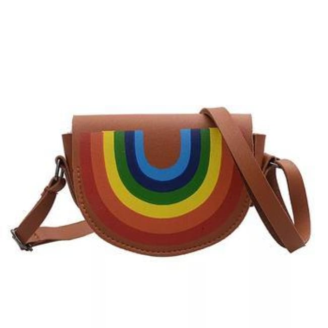 Mini sac à bandoulière ARC-EN-CIEL de la COLLECTION HAPPY - sacs - La boutique by c.