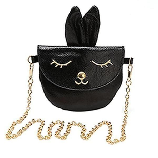 Mini Sac Bandoulière Lapin Girly - Noir - Mode - La Boutique By C.