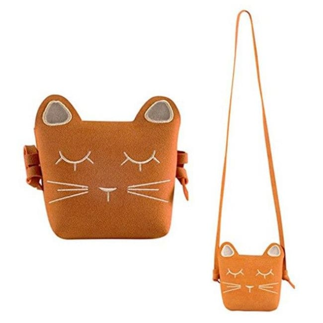 Mini sac CHATON - orange - sacs - La boutique by c.