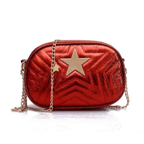 Mini Sac Etoile - Rouge - Mode - La Boutique By C.