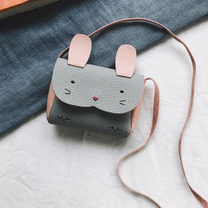Mini Sac Lapin - Gris - Enfant Mode - La Boutique By C.