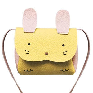 Mini Sac Lapin - Jaune - Enfant Mode - La Boutique By C.