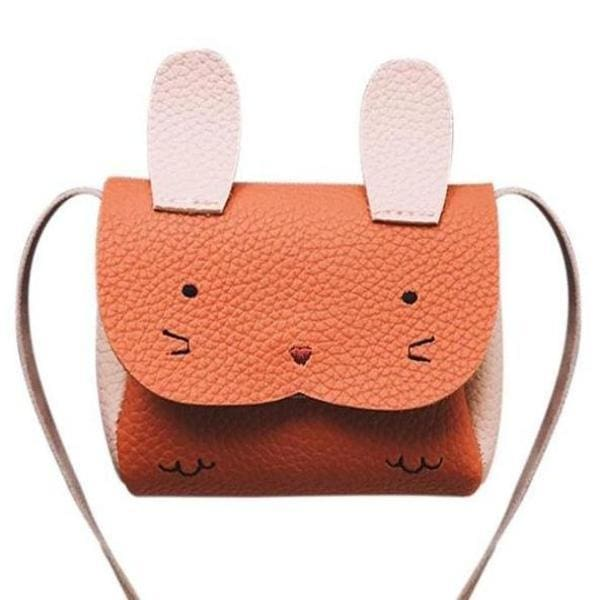 Mini Sac Lapin - Orange - Enfant Mode - La Boutique By C.