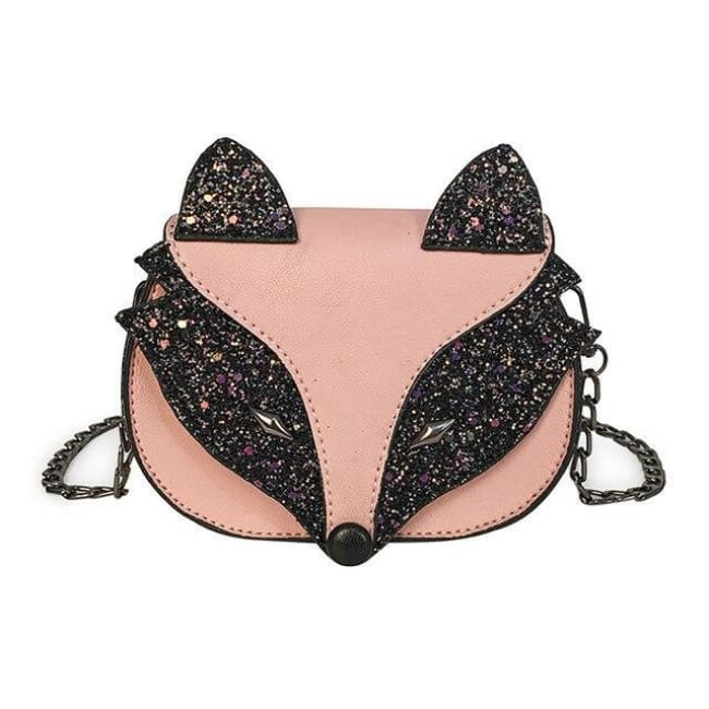 Mini sac RENARD de la COLLECTION FASHION - Rose - sacs - La boutique by c.
