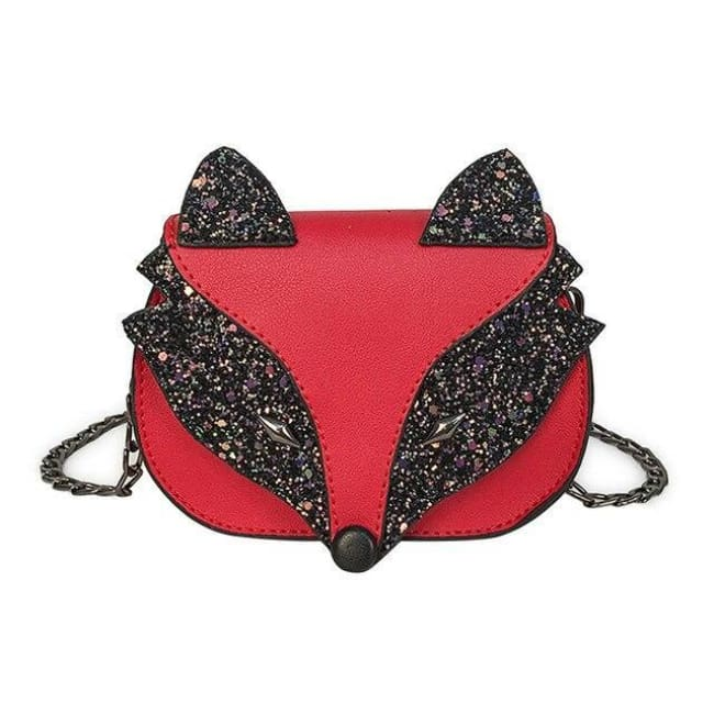 Mini sac RENARD de la COLLECTION FASHION - Rouge - sacs - La boutique by c.