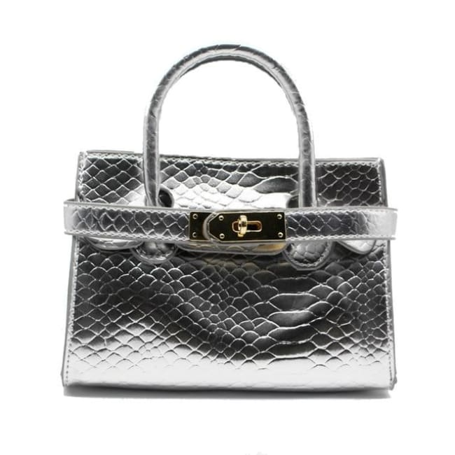 Mini sac VOGUE - argent - La boutique by c.