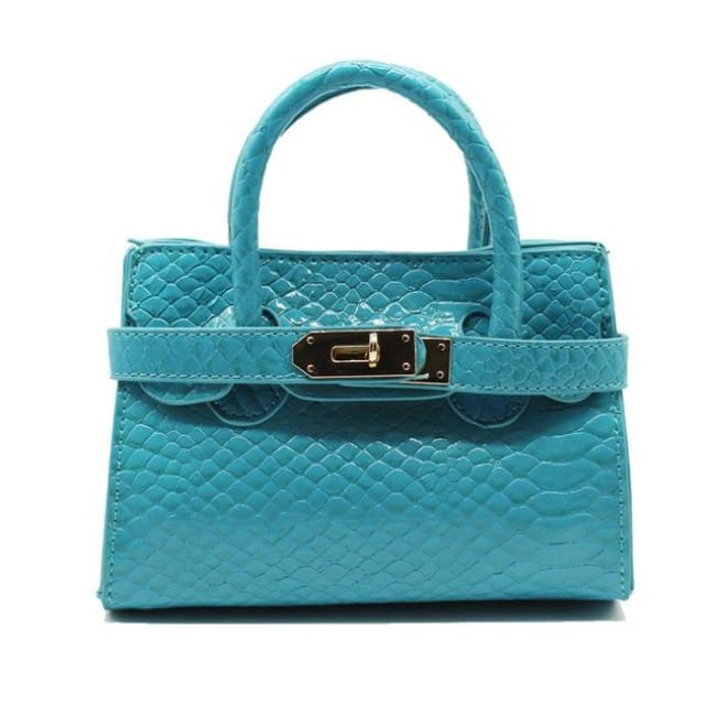Mini sac VOGUE - bleu clair - La boutique by c.