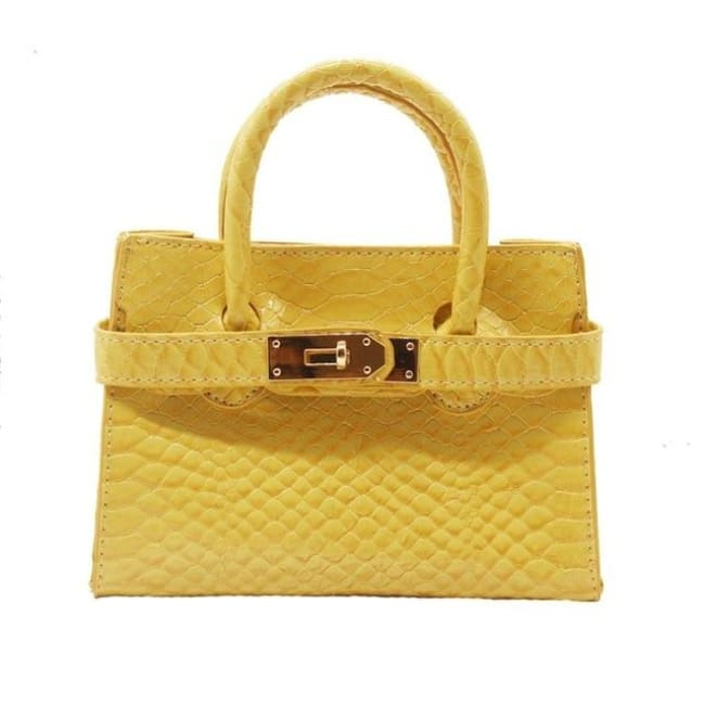 Mini sac VOGUE - jaune clair - La boutique by c.