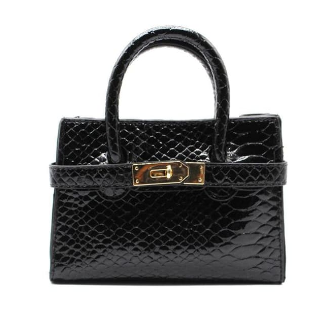 Mini sac VOGUE - noir - La boutique by c.