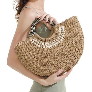 Panier COQUILLAGE de la COLLECTION BAHIA - sacs - La boutique by c.