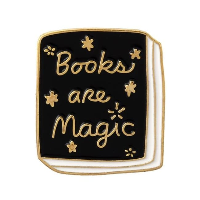Pins BOOKS ARE MAGIC - Pins - La boutique by c.