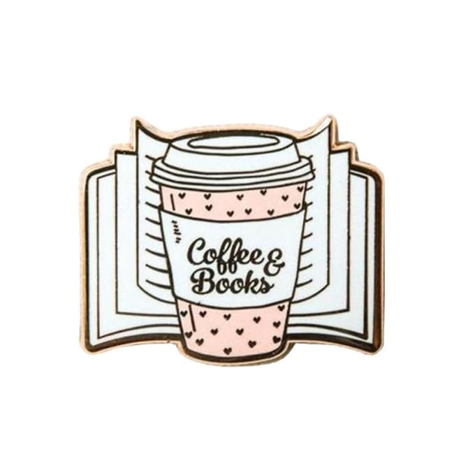 Pins COFFEE & BOOKS - Pins - La boutique by c.
