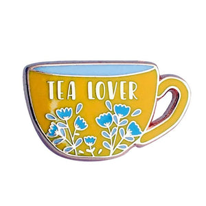 Pins TEA LOVER - Pins - La boutique by c.