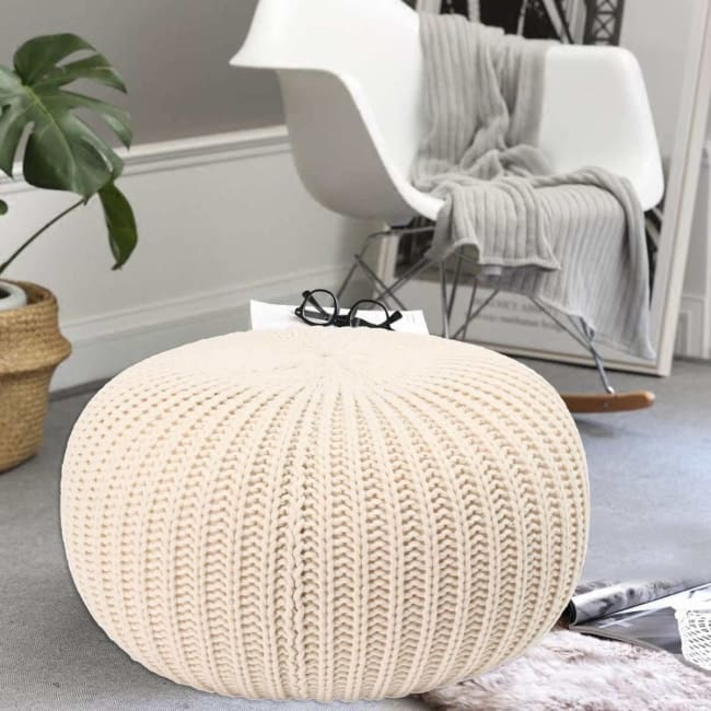 Pouf COCOON de la COLLECTION COSY - meubles - La boutique by c.