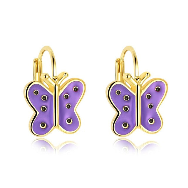 Boucles d'oreilles PAPILLON de la COLLECTION GIRLY