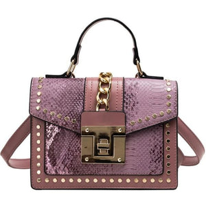 Sac BATIGNOLLES de la COLLECTION PARISIENNE - mauve - sacs - La boutique by c.
