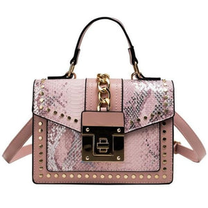 Sac BATIGNOLLES de la COLLECTION PARISIENNE - rose - sacs - La boutique by c.