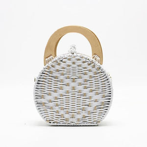 Sac BORD DE MER de la COLLECTION BAHIA - blanc - COLLECTION BAHIA sacs - La boutique by c.