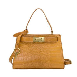Sac CLOSER de la COLLECTION MONACO - jaune / grand - sacs - La boutique by c.