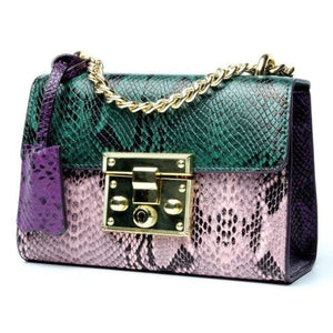 Sac en cuir COLLECTION MADEMOISELLE - Le Green - sacs - La boutique by c.