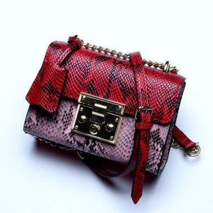 Sac en cuir COLLECTION MADEMOISELLE - Le Red - sacs - La boutique by c.