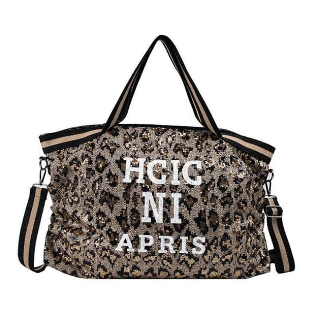 Sac GOSSIP GIRL LEOPARD de la COLLECTION CHIC IN PARIS - sacs - La boutique by c.