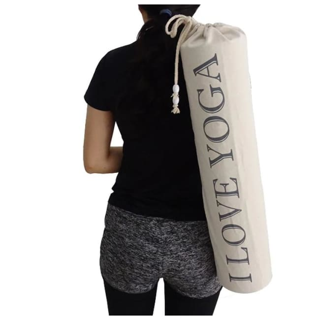 Sac I LOVE YOGA - sacs sport - La boutique by c.