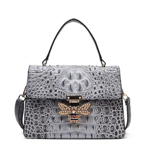 Sac MELLIFERA de la COLLECTION COUTURE - gris - sacs - La boutique by c.