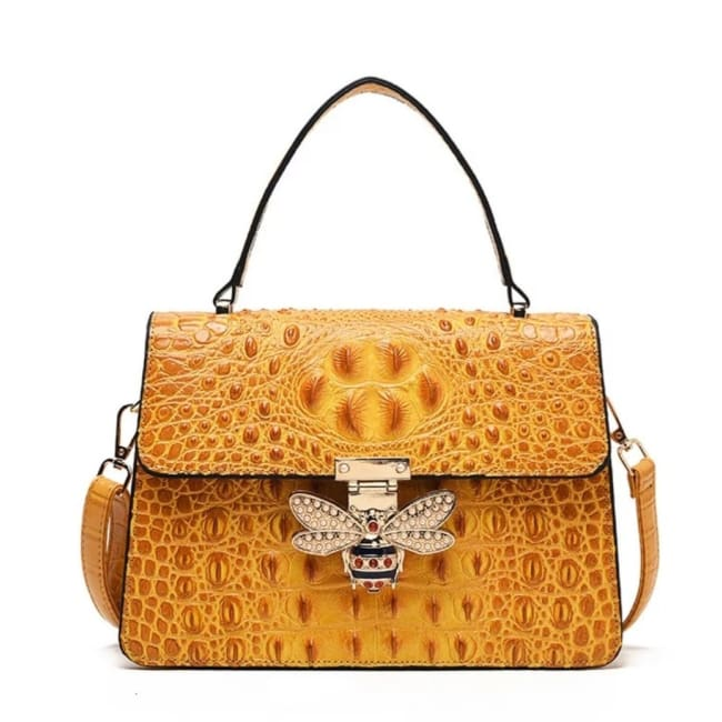 Sac MELLIFERA de la COLLECTION COUTURE - Jaune - sacs - La boutique by c.