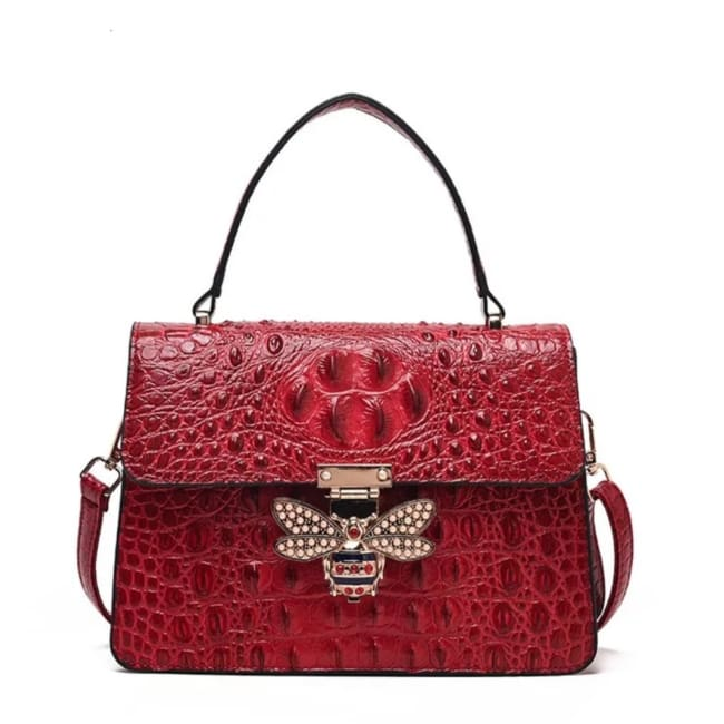 Sac MELLIFERA de la COLLECTION COUTURE - rouge - sacs - La boutique by c.