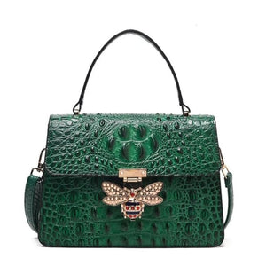 Sac MELLIFERA de la COLLECTION COUTURE - vert - sacs - La boutique by c.