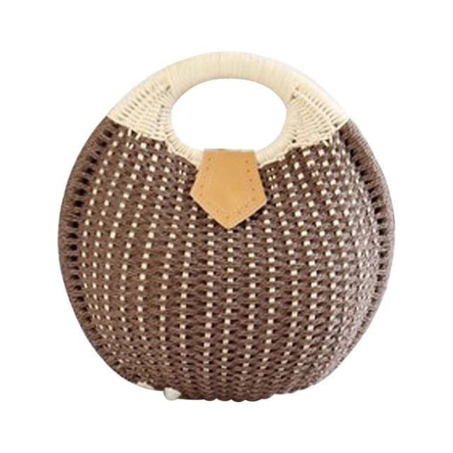 Sac RIVAGE de la COLLECTION BAHIA - chocolat - sacs - La boutique by c.