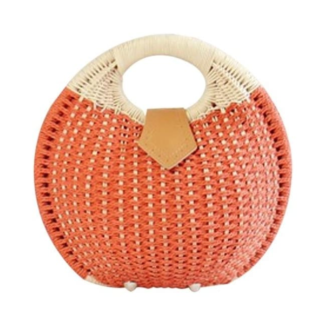 Sac RIVAGE de la COLLECTION BAHIA - corail - sacs - La boutique by c.