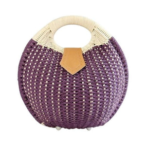 Sac RIVAGE de la COLLECTION BAHIA - pourpre - sacs - La boutique by c.