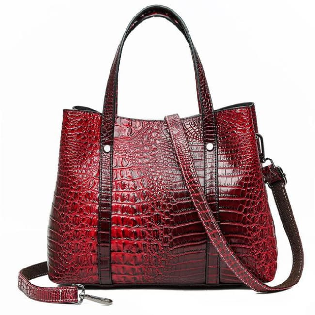 Sac SORBONNE de la COLLECTION PARISIENNE - rouge - sacs - La boutique by c.